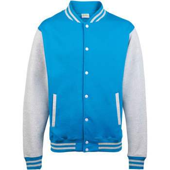 Vêtements Enfant Blousons Awdis Varsity Bleu saphir/Gris chiné