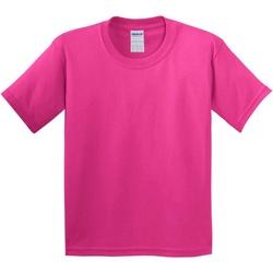 Vêtements Enfant T-shirts manches courtes Gildan 5000B Rose