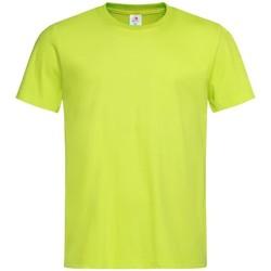Vêtements Homme T-shirts manches courtes Stedman Classics Jaune fluo
