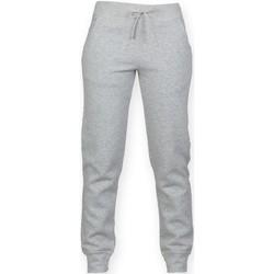 Vêtements Enfant Pantalons de survêtement Skinni Fit Cuffed Gris