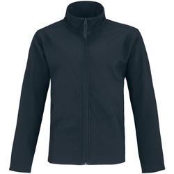 Vêtements Homme Vestes en cuir / synthétiques B And C Two Layer Bleu marine