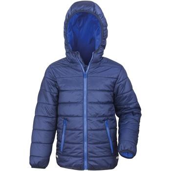 Vêtements Enfant Doudounes Result R233JY Bleu marine/Bleu roi