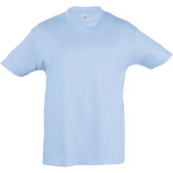 Vêtements Enfant T-shirts manches courtes Sols 11970 Bleu ciel