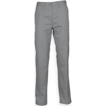 Vêtements Homme Chinos / Carrots Henbury HB640 Gris acier