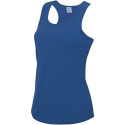 Vêtements Femme Débardeurs / T-shirts sans manche Just Cool Girlie Bleu roi