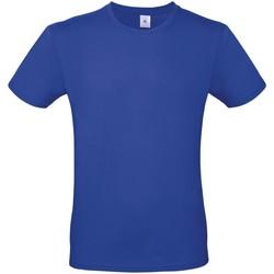 Vêtements Homme T-shirts manches courtes B And C E150 Bleu cobalt