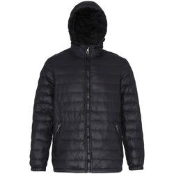 Vêtements Homme Doudounes 2786 Hooded Noir/ Noir