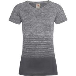 Vêtements Femme T-shirts manches courtes Stedman Active Gris clair