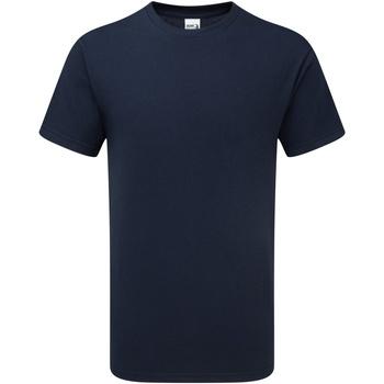 Vêtements Homme T-shirts manches courtes Gildan H000 Bleu marine