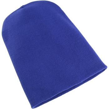 Accessoires textile Bonnets Yupoong Beanie Bleu roi
