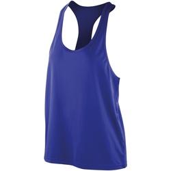 Vêtements Femme Débardeurs / T-shirts sans manche Spiro Softex Saphir