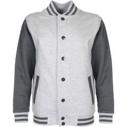 Vêtements Enfant Blousons Fdm Varsity Gris clair/gris foncé