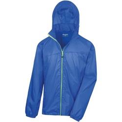 Vêtements Coupes vent Result Hydradri Bleu roi/Vert citron