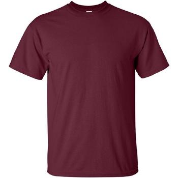 Vêtements Homme T-shirts manches courtes Gildan Ultra Bordeaux