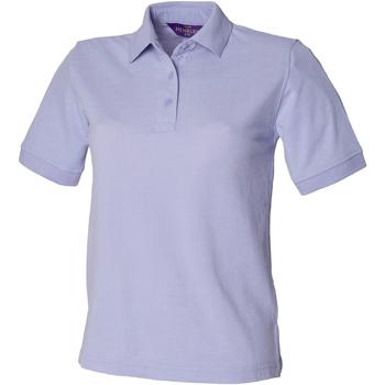 Vêtements Femme Polos manches courtes Henbury HB401 Lavande
