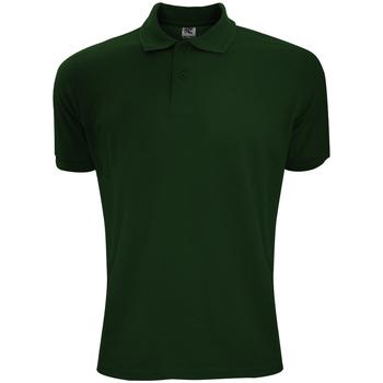 Vêtements Homme Polos manches courtes Sg Polycotton Vert bouteille