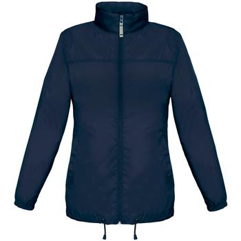 Vêtements Femme Coupes vent B And C JW902 Bleu marine