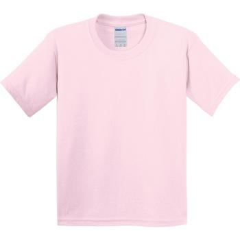 Vêtements Enfant T-shirts manches courtes Gildan 64000B Rose clair