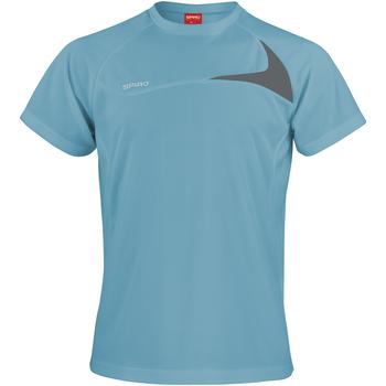 Vêtements Homme T-shirts manches courtes Spiro Performance Eau/Gris
