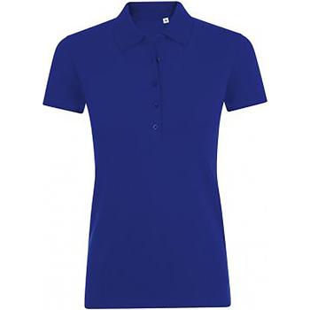 Vêtements Femme Polos manches courtes Sols Phoenix Bleu foncé vif