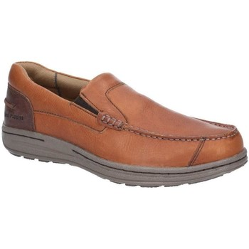 Chaussures Homme Mocassins Hush puppies Moccasin maron