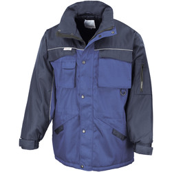 Vêtements Homme Parkas Result Windproof Bleu royal/Bleu marine