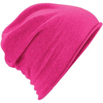 Accessoires textile Bonnets Beechfield Jersey Fuchsia