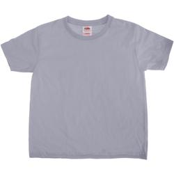 Vêtements Enfant T-shirts manches courtes Fruit Of The Loom Sofspun Gris