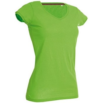 Vêtements Femme T-shirts manches courtes Stedman Stars Megan Vert