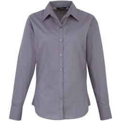 Vêtements Femme Chemises / Chemisiers Premier Poplin Gris foncé