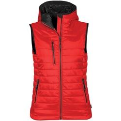 Vêtements Femme Doudounes Stormtech PFV-2W Rouge/Noir