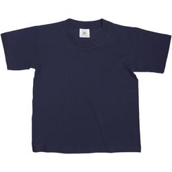 Vêtements Enfant T-shirts manches courtes B And C TK300 Bleu marine