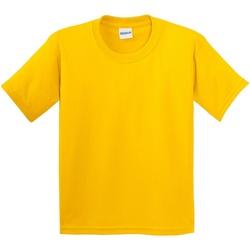 Vêtements Enfant T-shirts manches courtes Gildan 64000B Jaune