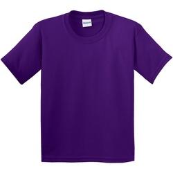 Vêtements Enfant T-shirts manches courtes Gildan 64000B Pourpre