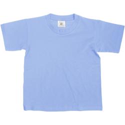 Vêtements Enfant T-shirts manches courtes B And C TK300 Denim