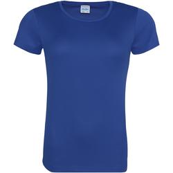 Vêtements Femme T-shirts manches courtes Just Cool JC005 Bleu roi