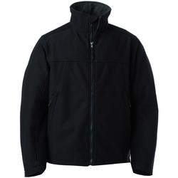 Vêtements Homme Vestes Russell Veste de travail respirante imperméable BC1056 Noir