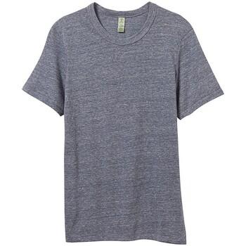 Vêtements Homme T-shirts manches courtes Alternative Apparel Jersey Bleu marine chiné