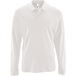 Vêtements Homme Polos manches longues Sols 2087 Blanc