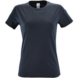 Vêtements Femme T-shirts manches courtes Sols Regent Gris souris