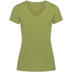 Vêtements Femme T-shirts manches courtes Stedman Stars Janet Kaki