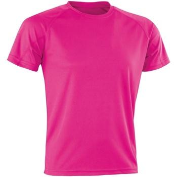 Vêtements Homme T-shirts manches courtes Spiro Aircool Rose
