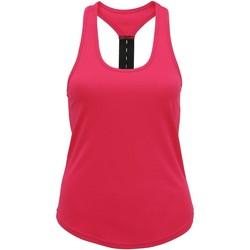 Vêtements Femme Débardeurs / T-shirts sans manche Tridri Performance Rose