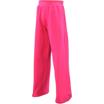 Vêtements Fille Pantalons de survêtement Awdis JH71J Rose