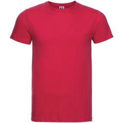 Vêtements Homme T-shirts manches courtes Russell R155M Rouge