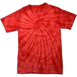 Vêtements T-shirts manches courtes Colortone Tonal Rouge