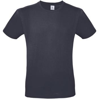 Vêtements Homme T-shirts manches courtes B And C E150 Bleu nuit