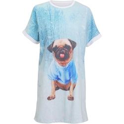 Vêtements Femme Pyjamas / Chemises de nuit Christmas Shop Christmas Bleu clair