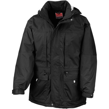 Vêtements Homme Parkas Result RE65A Noir/Noir