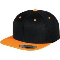 Accessoires textile Casquettes Yupoong YP002 Noir/Orange néon